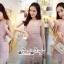 Short Sleeves Diamond Straps Fabric Dress Grab A Layer thumbnail 5