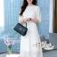 Aris Code White Lace Dress Maxi Sweet thumbnail 1
