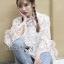 Lady bella Modern Vintage Lace Blouse thumbnail 2
