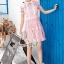 Pink Daisy Lace Dress thumbnail 4