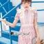 Pink Daisy Lace Dress thumbnail 1