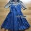 🎀 Lady Ribbon's Made 🎀Lady Anna Street Chic Striped T-Shirt with Denim Dress thumbnail 6