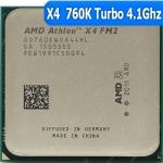 [FM2] X4 760K Quad Core 3.8 GHz Turbo Speed: 4.1 GHz AD760KWOA44HL