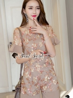 Seoul Secret Say's... Rose Gold Lace Flora Set