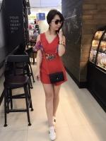 เสื้อผ้าแฟชั่นเกาหลี New Arrival …Don't Miss!! Normal Ally Present Boutique and classy playsuit