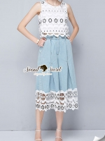 Seoul Secret Say's... LollyPop Tail Lace Chic Set