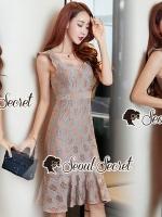 Seoul Secret Say's... Vinty Lacy Cami Dress