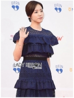 เสื้อผ้าแฟชั่นเกาหลี Lady Ribbon Thailand Lady Ribbon's Made Lady Chiara Laser-Cut and Embroidered Ruffle Cotton Dress