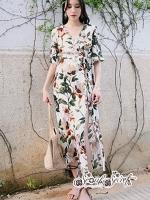 เสื้อผ้าแฟชั่นเกาหลี Lady Ribbon Thailand Seoul Secret Say's...Debris Flower So Sexy Turn After