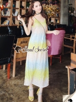 Seoul Secret Say's... sweety RainboeColor Layer Maxi