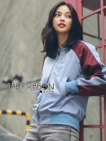 🎀Lady Ribbon's Made🎀 Lady Yuna Street Chic Embroidered Two-Toned Bomber Jacket