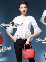 Seoul Secret Say's...Lolla Lace Blouse