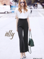 เสื้อผ้าแฟชั่นเกาหลี Lady Ribbon Thailand Normal Ally Present Boutique and classy playsuit