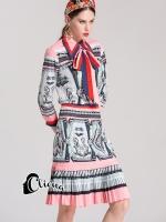 เสื้อผ้าแฟชั่นเกาหลี Cliona made Pinky Palace Gucc$ Luxury Set