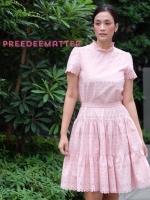 เสื้อผ้าแฟชั่นเกาหลี Lady Ribbon Thailand Lady Ribbon Dress