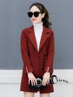 เสื้อผ้าแฟชั่นเกาหลี Cliona made Miss Jannie Winter Jacket