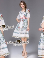 Seoul Secret Say's...D&G Summer Blossom Color Dress