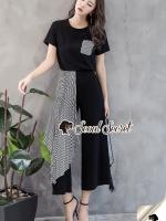 Seoul Secret Say's... Monarchy Stripe Tail Chic Set