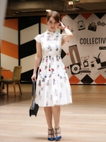 เสื้อผ้าแฟชั่นเกาหลี Lady Ribbon Thailand Normal Ally Present T.BKK new collection dress