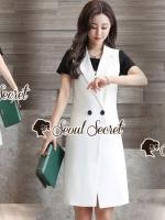 เสื้อผ้าแฟชั่นเกาหลี vSeoul Secret Say's... Chic Chic Suitcase Tiger Screen 3 Set