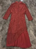 เสื้อผ้าแฟชั่นเกาหลี Modern Chinese Style Luxury LAce Dress -