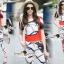 Lady Ribbon Korea Brand SS14060616 Seoul Secret Say's... Moshino Style Belty Set thumbnail 1