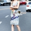 Lady Ribbon Korea Brand SS19300516 Seoul Secret Say's .... Parroty Lace Lace Cami Dress thumbnail 3