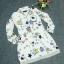 Brand Sevy Star Shining Day Collar Long Sleeve Mini Dress thumbnail 3