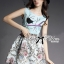 Lady Ribbon's Made &#x1F380 Lady Anna Dreamy Garden Embroidered Sleeveless Dress thumbnail 7