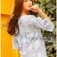 Lady Ribbon Korea Closet Design LR15130616 &#x1F380 Lady Ribbon's Made &#x1F380 Lady Sophia Feminine Closet Cropped Top Design เ thumbnail 4