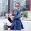 Brand Sevy Smart Casual A Line Denim Mini Dress thumbnail 2