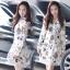 Brand Sevy Star Shining Day Collar Long Sleeve Mini Dress thumbnail 1