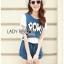 Lady Ribbon Korea Dress LR16060616 &#x1F380 Lady Ribbon's Made &#x1F380 Lady Dree Street Chic Sequin and Studded Denim Set thumbnail 4