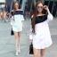 Lady Ribbon Sevy SV06290516 &#x1F389Sevy Off Shoulder Long Sleeve Shirt thumbnail 1