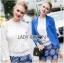 Lady Ribbon เสื้อผ้าเกาหลี LR01110716  thumbnail 1
