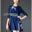 Dress Lady Ribbon Korea Mini Dress มินิเดรส thumbnail 5