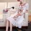 Lady Ribbon Korea SS04060616 Seoul Secret Say's... Bohe Color Embroider Long Dress thumbnail 3