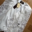 Lady Ribbon White Lace Jacket thumbnail 4