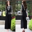 Black Overall Lady Ribbon jumpsuit thumbnail 2