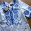 Lady Ribbon Korea Mini Dress LR14270616 &#x1F380 Lady Ribbon's Made &#x1F380 Lady Rachel Summery Classic Blue and White Embroidered Dress thumbnail 5