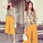 Brand Sevy Classy Simple Look Custard Jumpsuit thumbnail 1