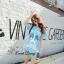 Lady Ribbon Korea Closet SB 15300516 Sweet Bunny Present... Jack Daniel's Shine Blue Eye Dress thumbnail 3
