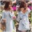 Lady Ribbon Korea LR11230516 &#x1F380 Lady Ribbon's Made &#x1F380 Lady Mila Sweet Minimal Back-Ribbon Baby Blue Dres thumbnail 3