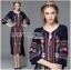 &#x1F380 Lady Ribbon's Made &#x1F380 Lady Lea Boho Colourful Flower Embroidered Midi Dress thumbnail 3