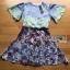 Mixed Printed Chiffon Lady Ribbon Dress thumbnail 6