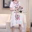 Lady Ribbon Korea SS04060616 Seoul Secret Say's... Bohe Color Embroider Long Dress thumbnail 5