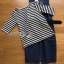 Chic Striped Top and Denim Lady Ribbon Dress thumbnail 7