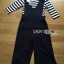 Black Overall Lady Ribbon jumpsuit thumbnail 7