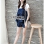 Lady Ribbon Korea Korea LR05300616 &#x1F380 Lady Ribbon's Made &#x1F380 Lady Kate Fashionable Street T-Shirt and Denim Full Set thumbnail 2