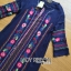 &#x1F380 Lady Ribbon's Made &#x1F380 Lady Lea Boho Colourful Flower Embroidered Midi Dress thumbnail 6